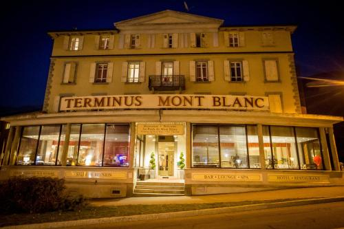 Hotel Terminus Saint Gervais Les Bains