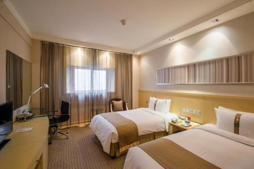 Holiday Inn Downtown Shanghai Улучшенный двухместный номер с 1 кроватью или 2 отдельными кроватями