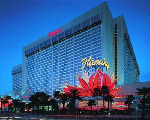 Flamingo Las Vegas, 3555 Las Vegas Boulevard South, Las Vegas, Nevada 89109, United States.