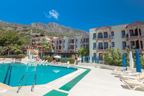 Kas Hotel Club Phellos yol tarifi