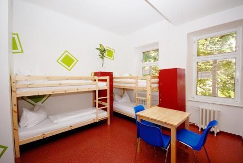 Krevet za 1 osobu u 10-krevetnoj spavaonici (Single Bed in 10-Bed Dormitory Room)