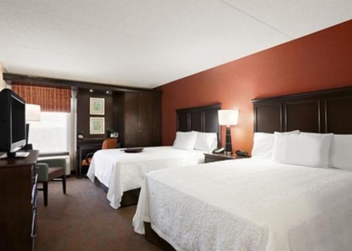 Hampton Inn Chicago-Midway Airport Двухместный номер с 1 кроватью
