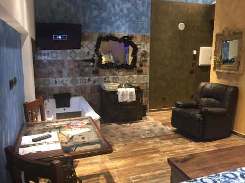 Habitación Doble con bañera de hidromasaje - Uso individual Hotel el Lagar de Isilla 6