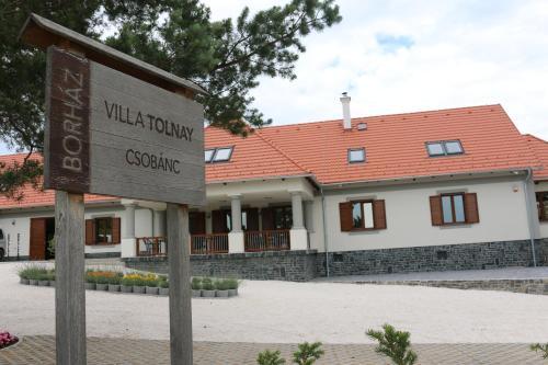 . Villa Tolnay Vendégház