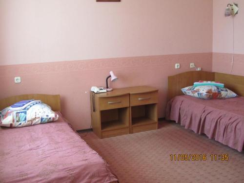 Гостиница «Березка» Стандартный двухместный номер с 2 отдельными кроватями