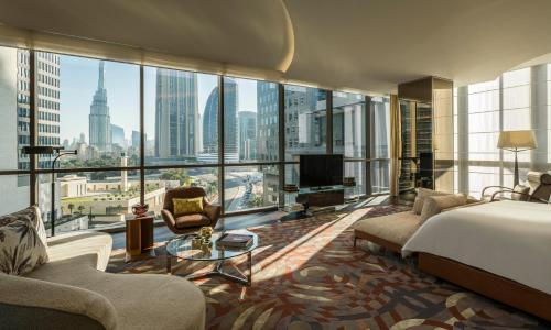 Four Seasons Hotel Dubai International Financial Centre стая снимки