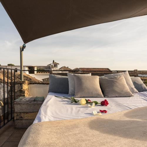 Deluxe Doppelzimmer mit Terrasse Balcón de Córdoba 17