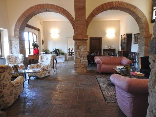 Kasteel-overnachting met je hond in Relais Borgo Di Toiano - Sovicille