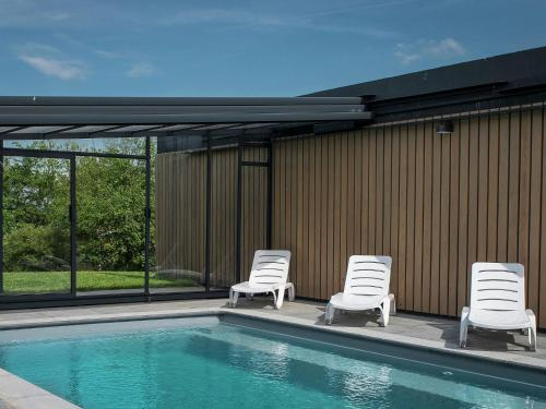 . Ardennes holiday home with private pool & sauna
