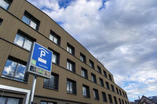 Hotel one66 (free parking garage), 9015 St. Gallen