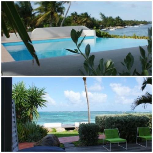 . Eden blue mer et piscine