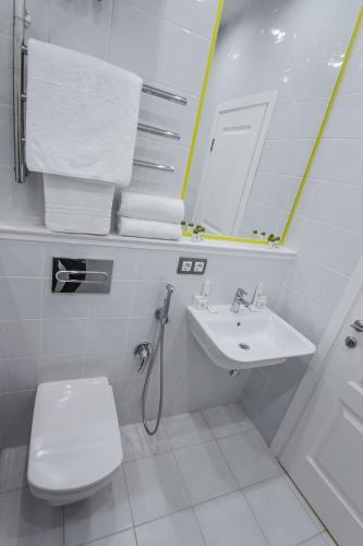 Апарт-отель Наумов Лубянка Стандартный двухместный номер с 1 кроватью или 2 отдельными кроватями