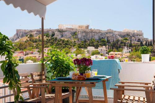 Amazing Penthouses with Acropolis View, Pension in Athen