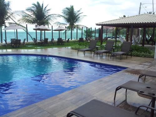 . Tabatinga Residence AP Beira Mar com vista deslumbrante da praia