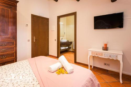 Standard Doppelzimmer Masia Can Canyes & Spa 5