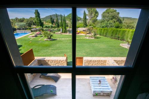 Suite con vistas al jardín Hotel Can Casi Adults Only 7