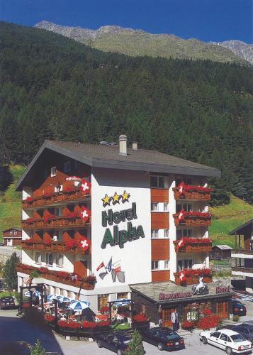 Hotel Alpha - Saas-Grund