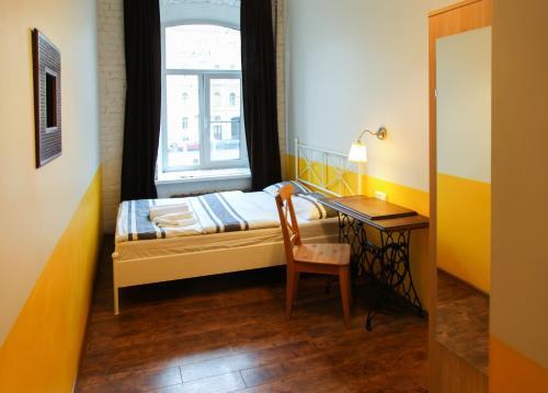 Soul Kitchen Hostel  Улучшенный двухместный номер с 1 кроватью и видом на реку