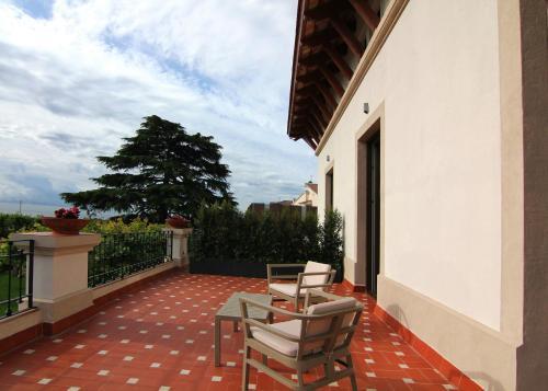Habitación Doble Superior con terraza Hotel Arrey Alella 16