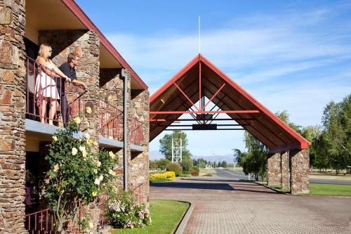 Corner Ostler & Wairepo Roads, Twizel, New Zealand.