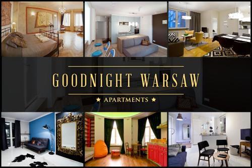 Goodnight Warsaw Apartments Wilcza 26A