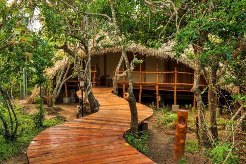 Chena Huts, Tala-Palatupana, Wildlife tourism zone, Yala, Tissamarama 82000, Sri Lanka.