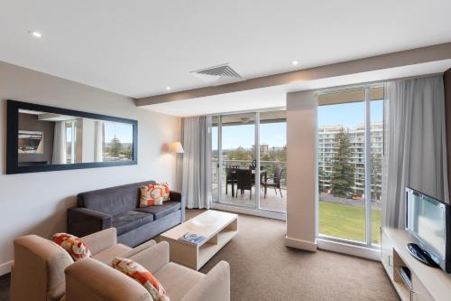 Oaks Plaza Pier, 16 Holdfast Promenade, Glenelg, South Australia 5045, Australia.
