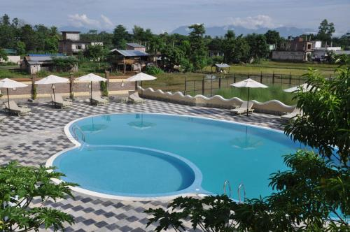 A-HOTEL com - Green Park Chitwan, resort, Sauraha, Nepal