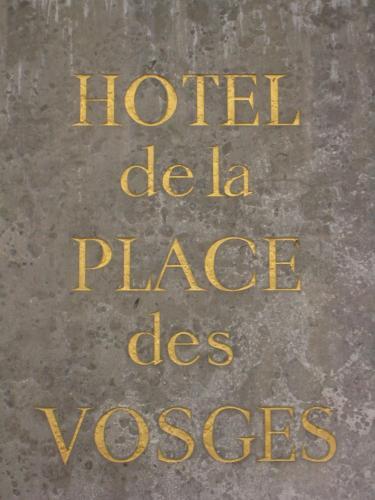 Boutique Hotel de la Place des Vosges photo 2