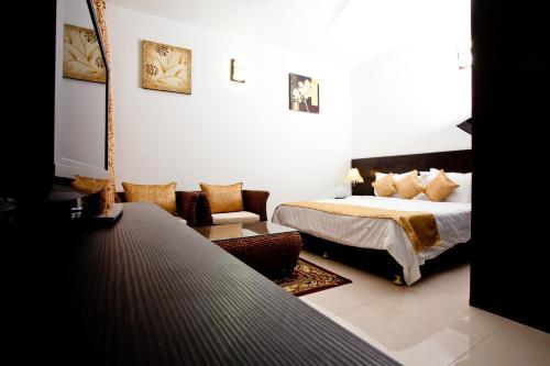 Residence Lagon Bleu Номер-студио с кроватью размера
