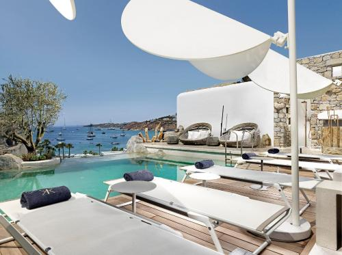 Kensho Boutique Hotel & Suites, Ornos Beach, 84600 Mykonos, Greece.