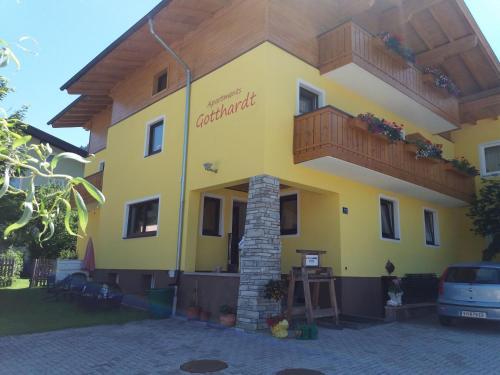 Apartmenthaus Gotthardt Kaprun