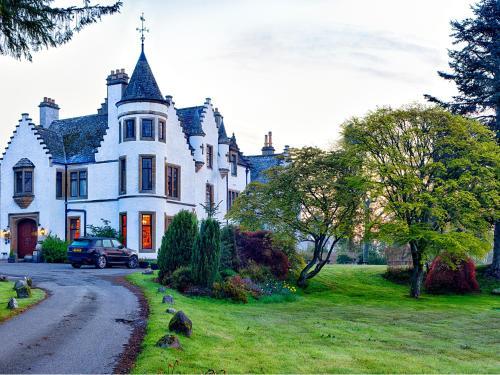 Kasteel-overnachting met je hond in Kincraig Castle Hotel - Invergordon