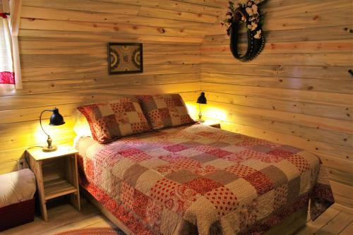 . Silver Cabin in The Western Barn