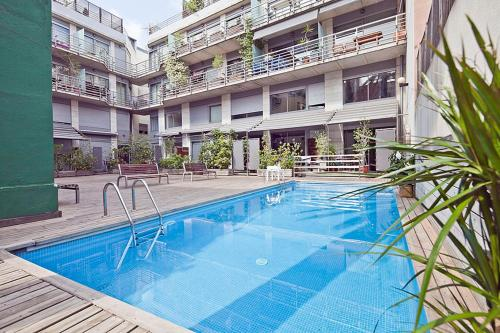 Hotel Apartment Barcelona Rentals - Gracia Pool Apartments