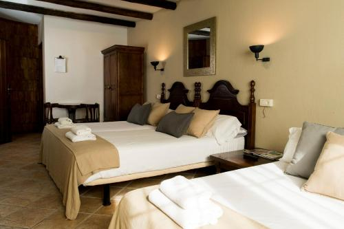 Vierbettzimmer mit Balkon El Balcon de las Nieves 20