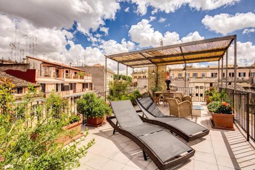 Trastevere Attic with Terrace