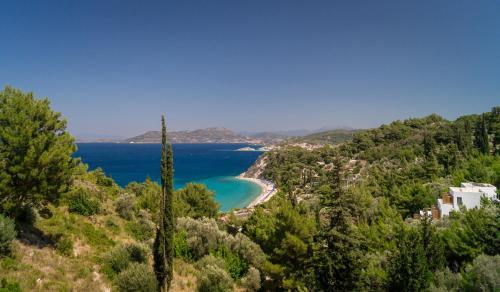 Tsamadou beach, Kokkari, Samos, Greece.