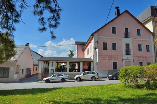 . Hotel and restaurant Via Ironia