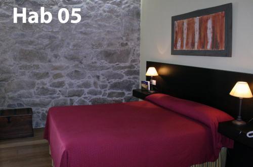 Budget Double Room Hotel Pazo de Lestrove by Pousadas de Compostela 9