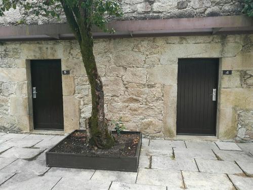 Budget Double Room Hotel Pazo de Lestrove by Pousadas de Compostela 10