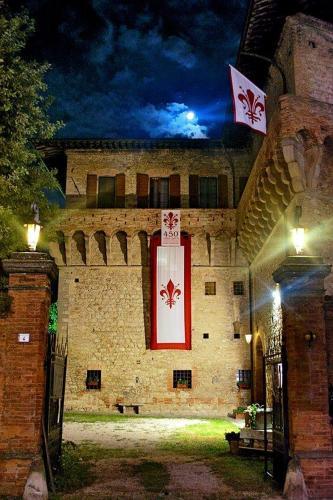 Kasteel-overnachting met je hond in Castello del Capitano delle Artiglierie - Castrocaro Terme