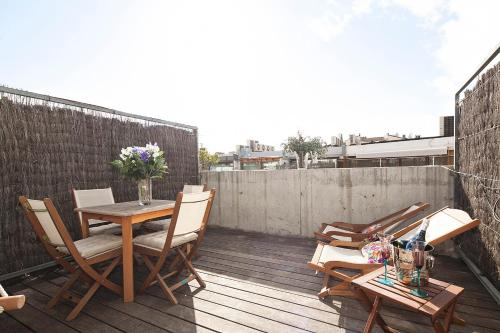 Apartment Barcelona Rentals - Penthouse with Terrace photo 13