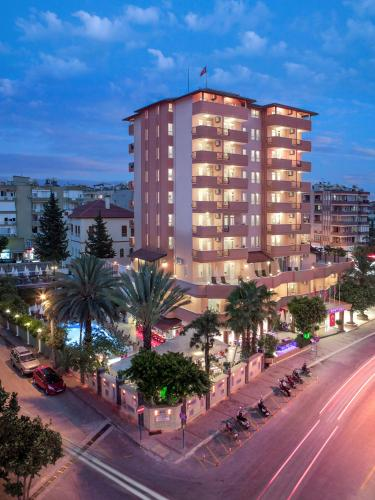 Alanya May Flower Apart Hotel adres