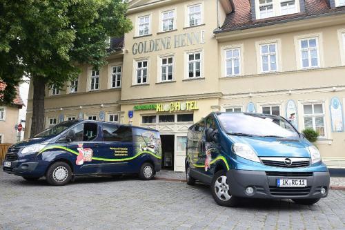. Hotel garni Goldene Henne