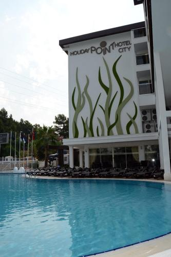 Side Holiday City Hotel-All Inclusive odalar