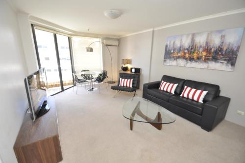 Sydney CBD Modern Self-Contained One-Bedroom Apartment (53 MKT) 룸 사진