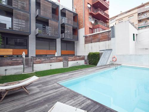 Apartment Barcelona Rentals - Swimming Pool with Terrace