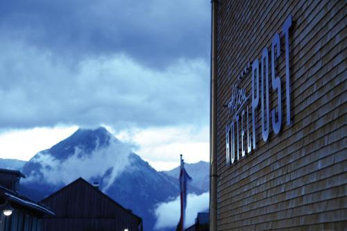A Hotel Com Alpenhotel Post Hotel Au Im Bregenzerwald