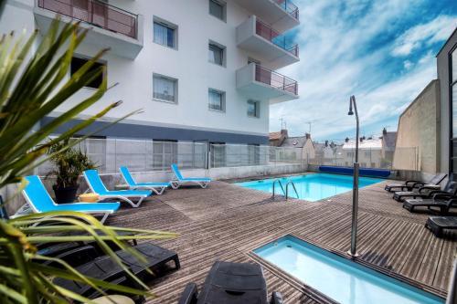 Zenitude Hôtel-Résidences Les Portes de l'Océan - Hôtel - Saint-Nazaire